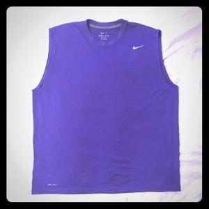 Nike DriFit Sleeveless T-Shirt